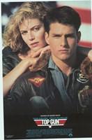 Top Gun Tom Cruise & Kelly McGillis Fine-Art Print