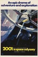 2001: A Space Odyssey An Epic Drama Fine-Art Print