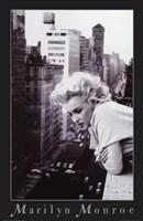 Marilyn Monroe -  NYC balcony Fine-Art Print