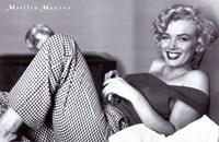 Marilyn Monroe - Pajamas Fine-Art Print