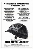 Full Metal Jacket Black and White Fine-Art Print