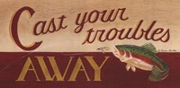 Cast Your Troubles Away Fine-Art Print