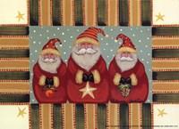 Santa Trio Fine-Art Print