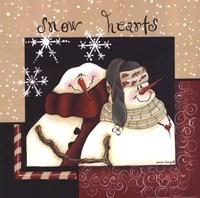 Snow Hearts Fine-Art Print