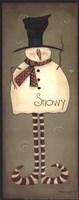 Mini-Snowy Fine-Art Print