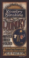 Kountry Sunshine Laundry Fine-Art Print