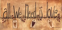 All We Need is Love Fine-Art Print