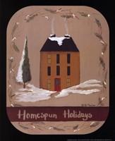 Homespun Holidays Fine-Art Print