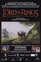 Lord of the Rings: Fellowship of the Ring Motion Picture Fine-Art Print