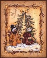 Snow Folk Faith Fine-Art Print