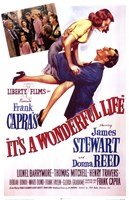 It's A Wonderful Life Frank Capra - scene Fine-Art Print