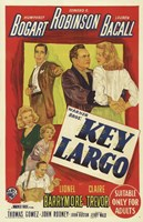 Key Largo Bogart Robinson Bacall Fine-Art Print