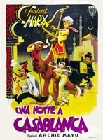 Night in Casablanca Camel Fine-Art Print