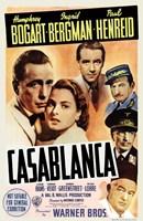 Casablanca Cast Fine-Art Print