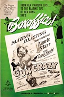 Gun Crazy Story Of Laurie Starr Fine-Art Print