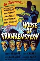House of Frankenstein Fine-Art Print