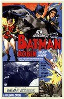 Batman and Robin - Batman Victorious Fine-Art Print