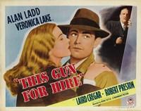 This Gun For Hire Alan Ladd Fine-Art Print