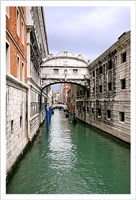View From Bridge of Sighs. S.Marco Fine-Art Print