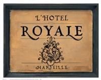 L'Hotel Royale Fine-Art Print