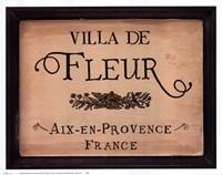 Villa de Fleur Fine-Art Print