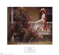 Philip leslie Hale - The Crimson Rambler Fine-Art Print