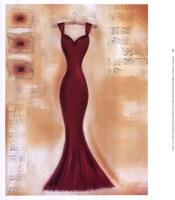 Red Dress II Fine-Art Print