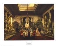 La Salle a Manger de la Princesse Mathilde Fine-Art Print