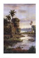Island Serenity I Fine-Art Print