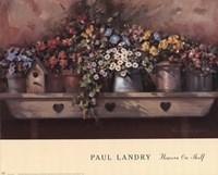 Flowers on Shelf Fine-Art Print