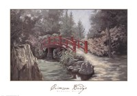 Crimson Bridge Fine-Art Print