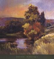 The River's Edge II Fine-Art Print