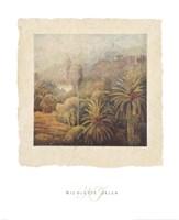 Garden Palms I Fine-Art Print