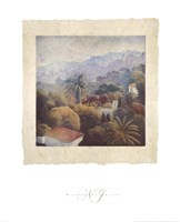 Garden Palms II Fine-Art Print