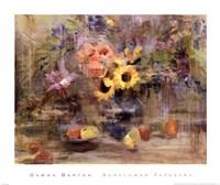 Sunflower Tapestry Fine-Art Print