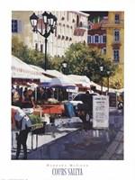 Cours Saleya Fine-Art Print