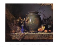 Olive Jar and Apricots Fine-Art Print