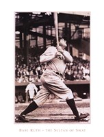 Babe Ruth  The Sultan of Swat Fine-Art Print