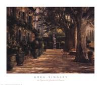 La Signora del Giardino di Tuscana Fine-Art Print