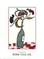 Bistro Floral One Fine-Art Print