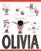 Olivia - Busy Little Piggy Fine-Art Print