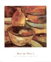 Glazing Pots I Fine-Art Print