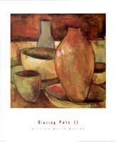 Glazing Pots II Fine-Art Print