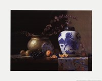 Blue China Vase Fine-Art Print