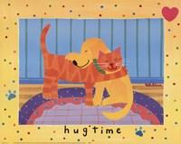Hugtime Framed Print