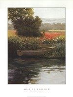 Boat at Wareham Fine-Art Print