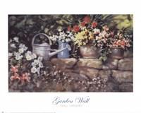 Garden Wall Fine-Art Print