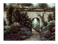 The Garden Gate Fine-Art Print