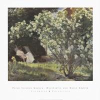 Peter Severin Kroyer - Havepartie Med Marie Kryer Fine-Art Print