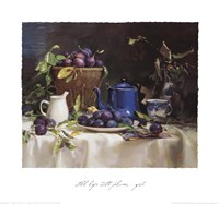 Still Life with Plums Fine-Art Print